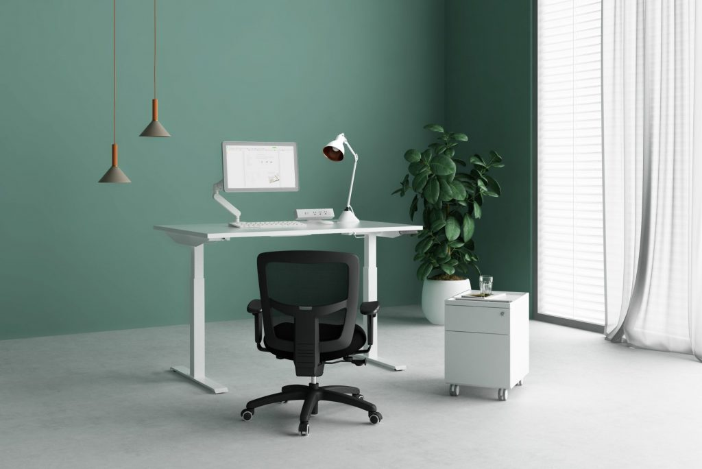 Fríant Home Office With Sit - Stand Desk
