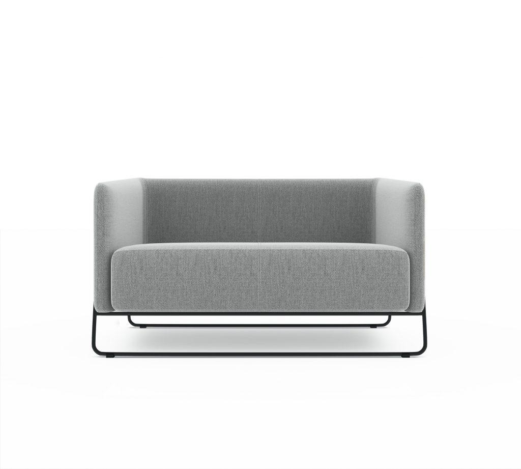 Friant Furniture Soft Seating Hanno Render -Loveseat
