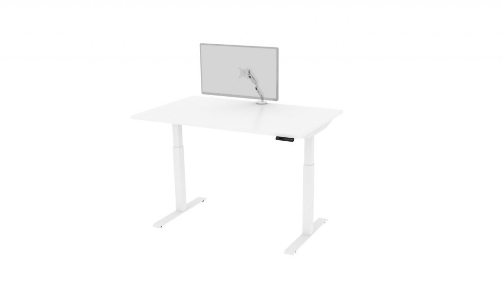Friant Home Office Cluster E Render_Monitor_Sit Stand Desk