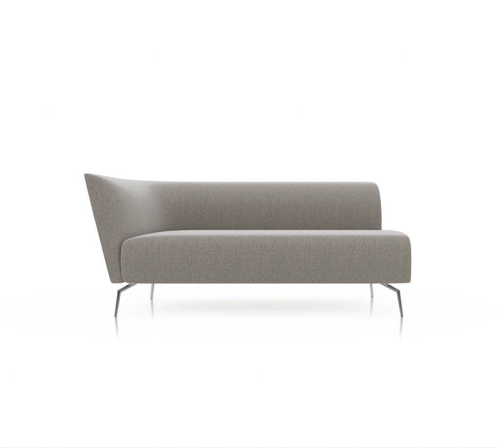 Friant Furniture Soft Seating Jot Render - Double Left Sectional