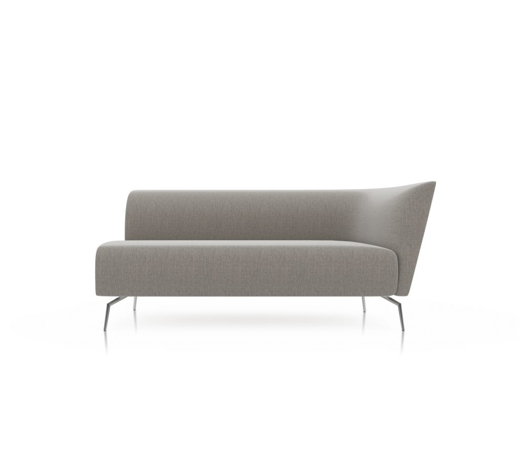 Friant Furniture Soft Seating Jot Render - Double Right Sectional
