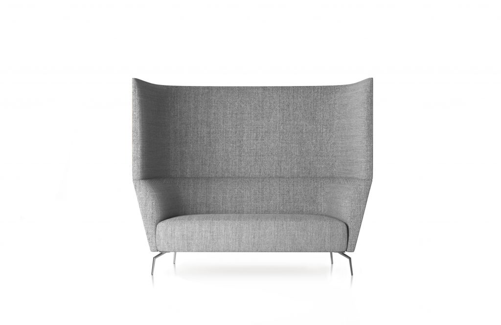 Friant Furniture Soft Seating Jot Render - High Back Double Lounge Chair