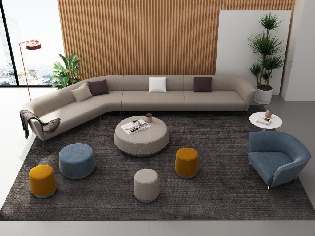 Friant Furniture Soft Seating Workplace Render - Hanno_Jot_Pog II